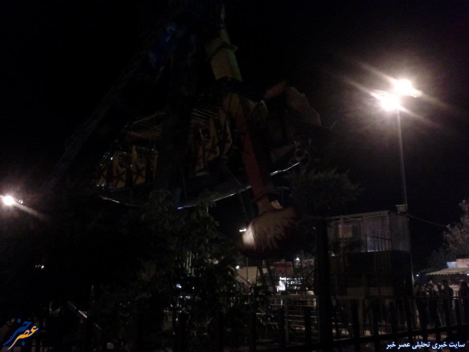 حادثه رنجر شهر بازی شورابیل اردبیل