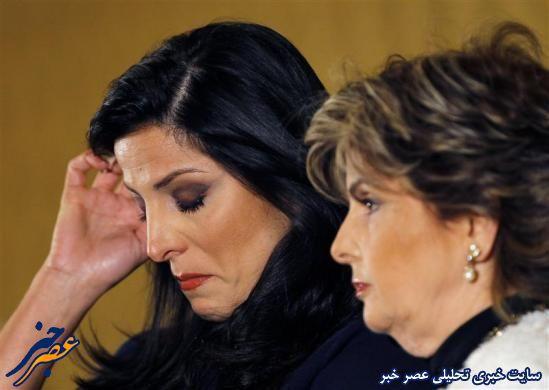 ناتیلا خوام، خواهر جیلی در کنفرانس خبری در واشنگتن در خصوص ارتباط جیلی با پترائوس توضیح داد