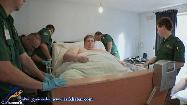چاق ترین انسان جهان، درگذشت+عکس