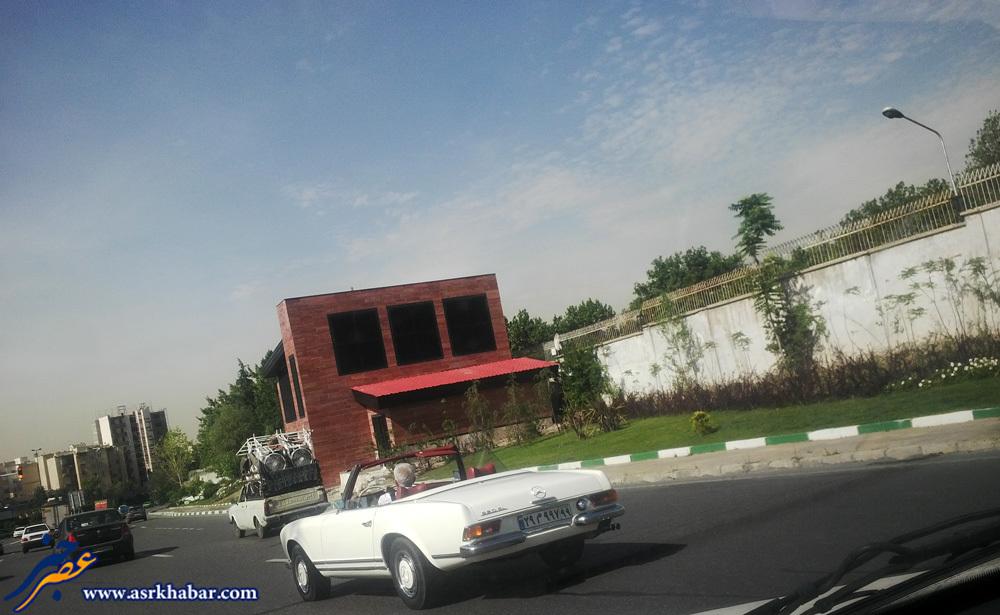 پدربزرگ های بنز در خیابان های تهران (عکس)