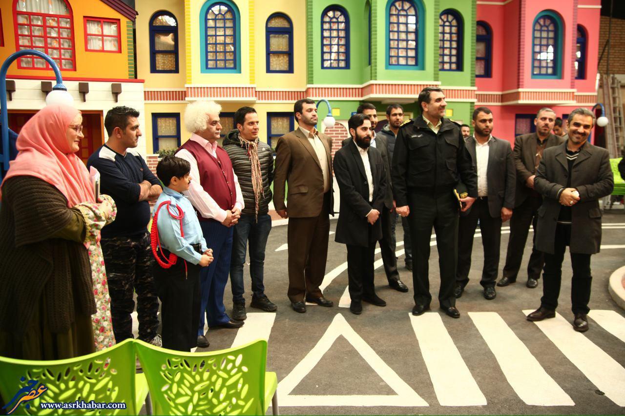 رئیس پلیس تهران به برنامه عمو پورنگ رفت (عکس)