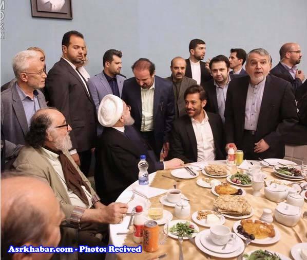 واکنش گلزار به عکسش با رئیس جمهور (+عکس)