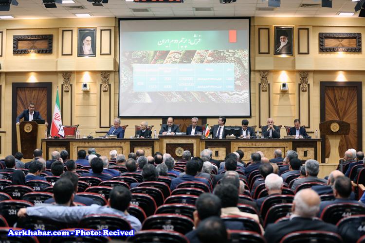 کج سلیقگی در اتاق بازرگانی ایران (عکس)